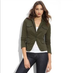 {Lucky Brand} Army Military Blazer